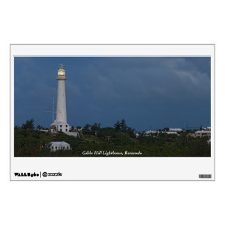 Gibbs Hill Lighthouse at Dawn Wall Decal