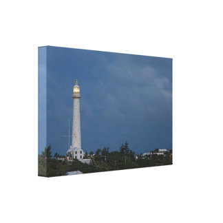 Gibbs Hill Lighthouse at Dawn Wrapped Canvas