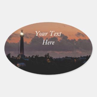 Gibbs Hill Lighthouse Oval Sticker