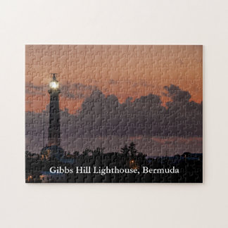 Gibbs Hill Lighthouse Sunset Puzzle