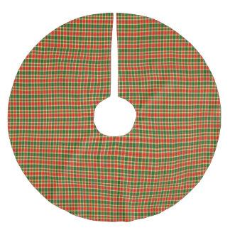 Gibbs Scottish Tartan Tree Skirt Brushed Polyester Tree Skirt