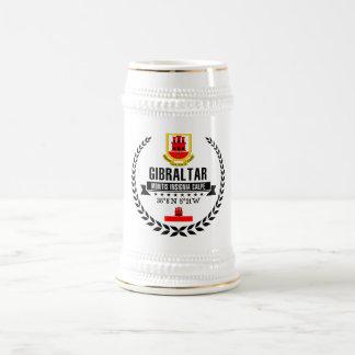 Gibraltar Beer Stein