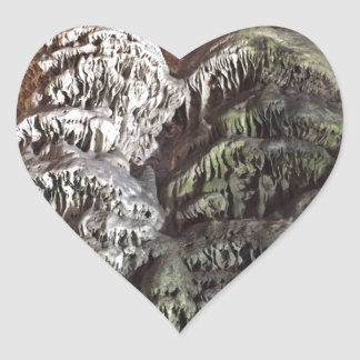 Gibraltar Caves Heart Sticker