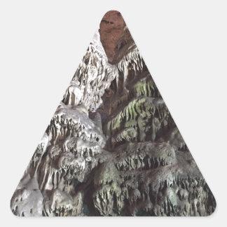 Gibraltar Caves Triangle Sticker
