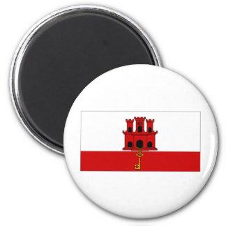 Gibraltar City Flag Magnet