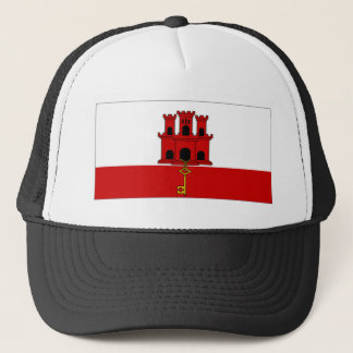 Gibraltar City Flag Trucker Hat