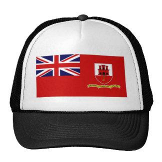 Gibraltar Civil Ensign Trucker Hat