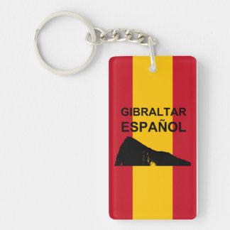 Gibraltar Español Keychain