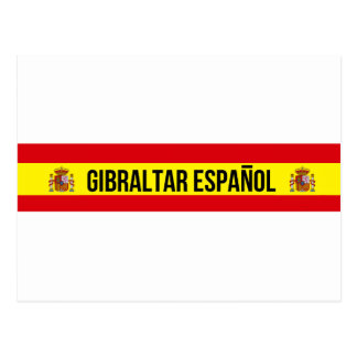 Gibraltar Español - Spanish Gibraltar Postcard
