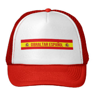 Gibraltar Español - Spanish Gibraltar Trucker Hat