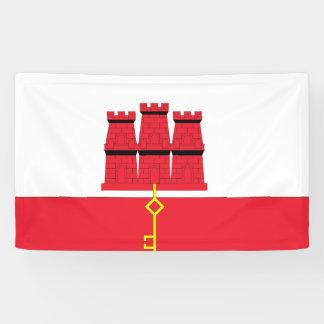 Gibraltar Flag Banner