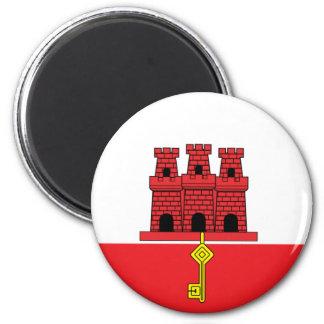 Gibraltar Flag Magnet