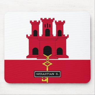Gibraltar flag mouse pad