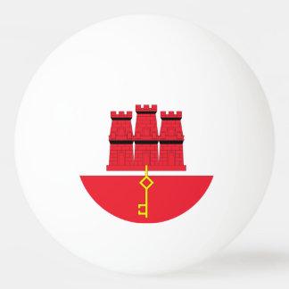 Gibraltar Flag Ping-Pong Ball