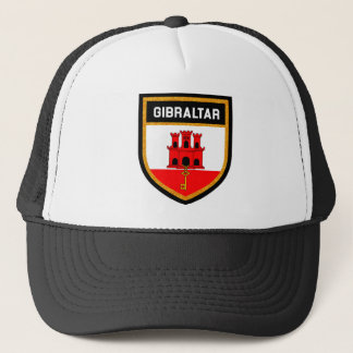Gibraltar Flag Trucker Hat