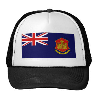 Gibraltar Government Ensign Trucker Hat