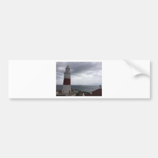 Gibraltar Lighthouse Bumper Sticker