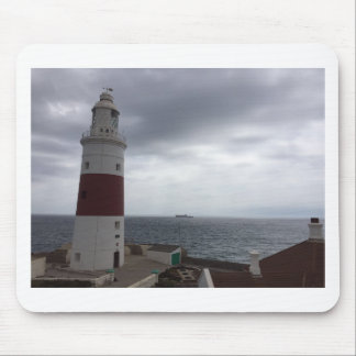 Gibraltar Lighthouse Mouse Pad