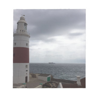 Gibraltar Lighthouse Notepad