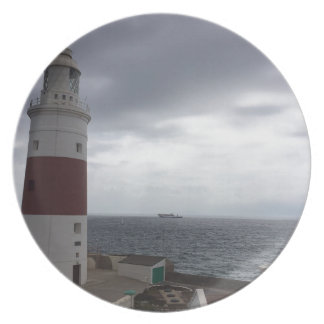 Gibraltar Lighthouse Plate
