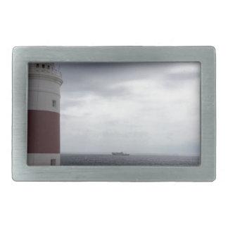 Gibraltar Lighthouse Rectangular Belt Buckle