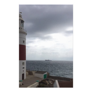 Gibraltar Lighthouse Stationery