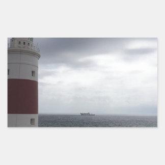 Gibraltar Lighthouse Sticker