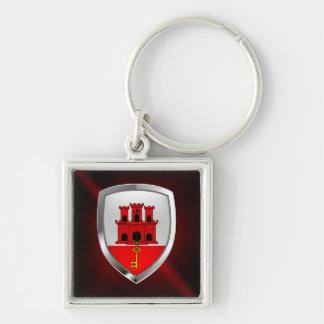 Gibraltar Metallic Emblem Keychain