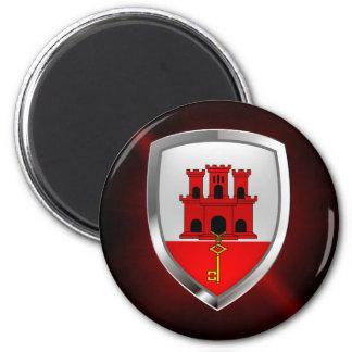 Gibraltar Metallic Emblem Magnet