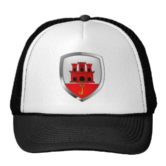 Gibraltar Metallic Emblem Trucker Hat
