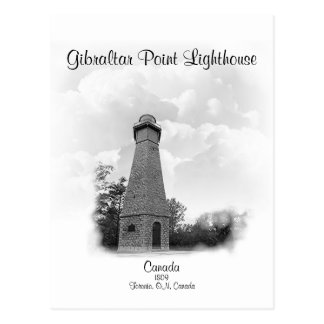 Gibraltar Point Lighthouse - Ontario, Canada Postcard