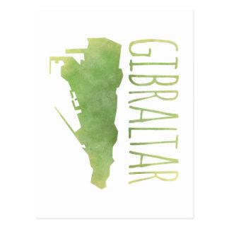 Gibraltar Postcard