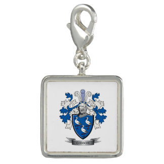 Gibson Family Crest Coat of Arms Charms