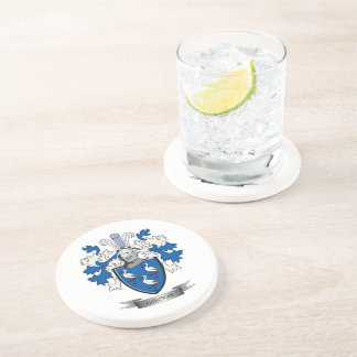 Gibson Family Crest Coat of Arms Coaster