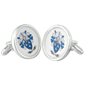Gibson Family Crest Coat of Arms Cufflinks