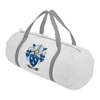 Gibson Family Crest Coat of Arms Gym Bag