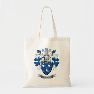 Gibson Family Crest Coat of Arms Tote Bag