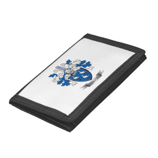 Gibson Family Crest Coat of Arms Tri-fold Wallet