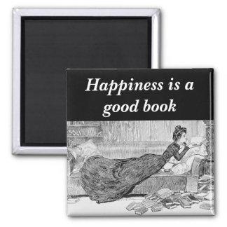 Gibson Girl Reading a Book Magnet