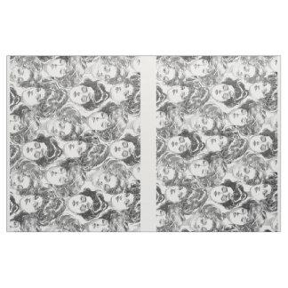 Gibson Girls by Charles Dana Gibson Circa 1902 Fabric