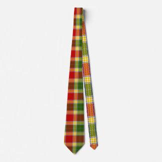 Gibson Tartan Print Tie