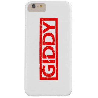 Giddy Stamp Barely There iPhone 6 Plus Case