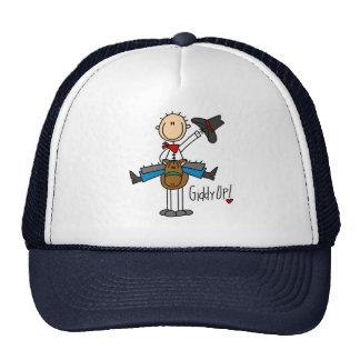 Giddy Up! Cowboy Stick Figure Hat