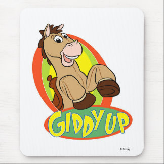 Giddy Up Disney Mouse Pad