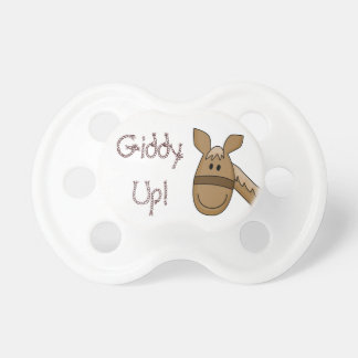 Giddy Up Palomino Pony Pacifier