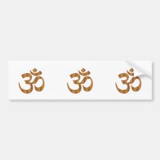 GIF d'hindouisme de chant de méditation de yoga Autocollant De Voiture