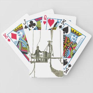 Giffard_-_Machine_à_vapeur_de_l'aérostat Bicycle Playing Cards