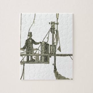 Giffard_-_Machine_à_vapeur_de_l'aérostat Jigsaw Puzzle