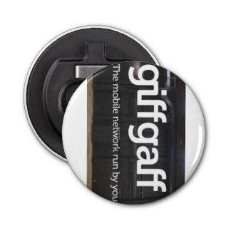 Giffgaff bottle opener button bottle opener
