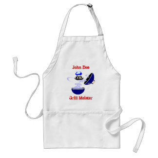 Gift Apron To Personalize for The Grill Meister